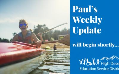 Paul's Update — July 15