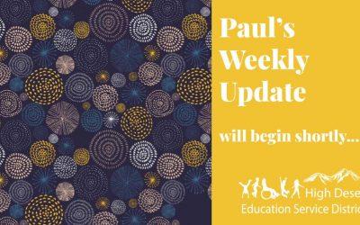 Paul's Update — August 12